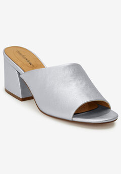 The Bailey Mule by Comfortview®, SILVER