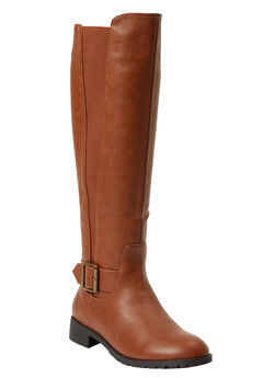 The Milan Wide Calf Boot by Comfortview®,