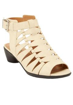 Kadie Sandals by Comfortview®, BONE