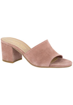 Mel-Italy Pumps by Bella Vita®, BLUSH SUEDE