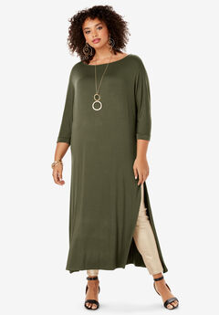 Side-Slit Ultra Tunic,