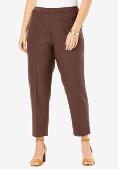 Ankle-Length Bend Over® Pant, RICH BROWN