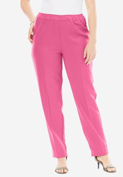 Bend Over® Pull-On Pant, ROYAL ROSE, hi-res