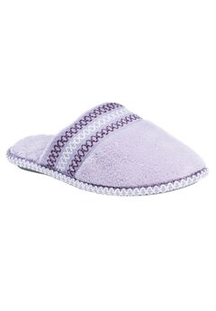 Cathy Closed Toe Slippers by Muk Luks®, HYDRANGEA