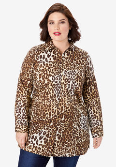Kate Tunic, BROWN CLASSIC ANIMAL