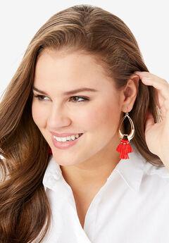 Tassel Drop Earring,