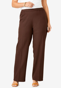 Wide-Leg Bend Over® Pant, RICH BROWN