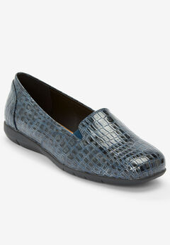 The Leisa Flat by Comfortview®, NAVY