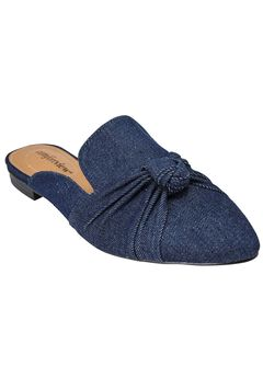 Ceclia Mules by Comfortview®, DENIM, hi-res