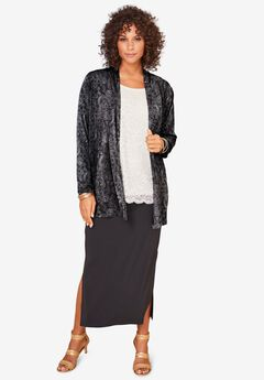 Ultrasmooth® Long-Sleeve Cardigan,