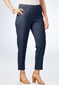 Bend Over® Ankle Pant, NAVY