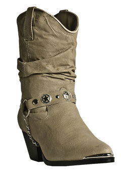 Olivia Western Boot by Dingo,