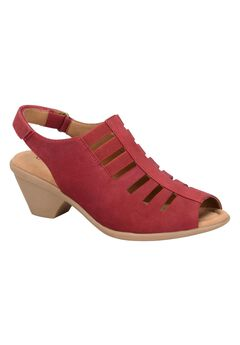Faye Sandals by Comfortiva®, RUBY RED
