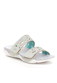 Wildflower Slide Sandals by JBU,