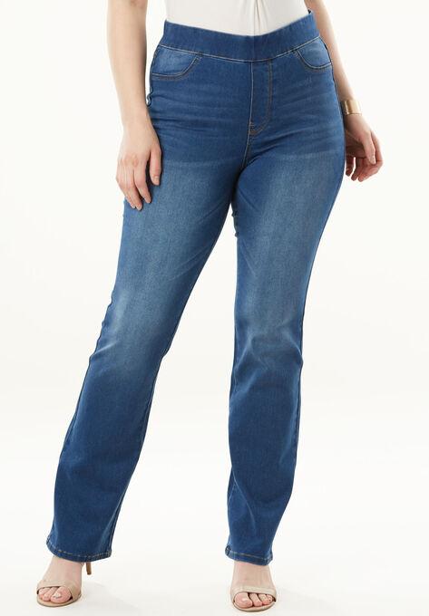 0127956982b11 The No-Gap Slim Bootcut Jean by Denim 24 7®