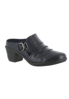 Calm Booties by Easy Street®, NAVY BURNISH