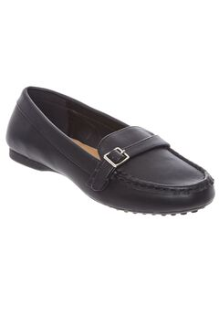 Brylee Flats by Comfortview®, BLACK, hi-res