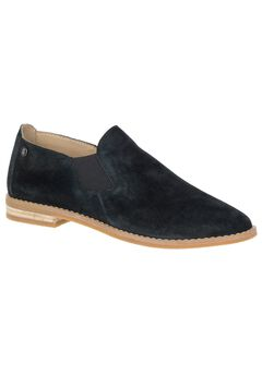 Analise Clever Slip-Ons by Hush Puppies®, BLACK SUEDE, hi-res