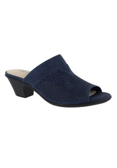 Posh Sandals by Easy Street®, NAVY, hi-res