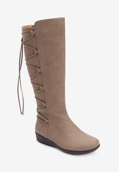 The Sailor Wide Calf Boot by Comfortview®,