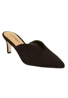 The Angeline Mule by Comfortview®, BLACK