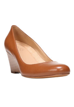 Emily Wedges by Naturalizer®, SADDLE TAN, hi-res
