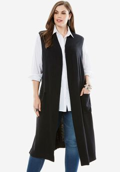 Sleeveless Cardigan,