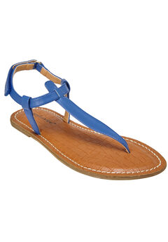 Lainey Sandals by Comfortview®, ROYAL NAVY, hi-res