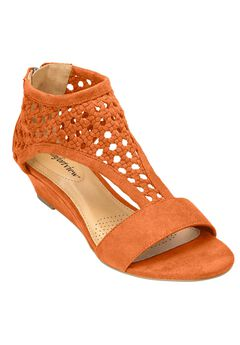 Gwen Sandals by Comfortview®, COPPER