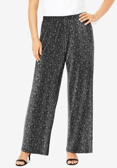 Ultra Smooth Wide-Leg Pant, FOLK PAISLEY