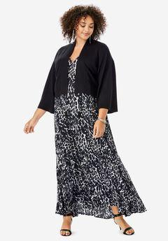 1d89e4382e Cropped Kimono-Sleeve Cardigan