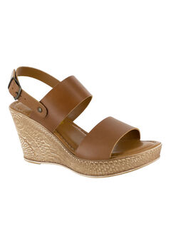 Cor-Italy Sandals by Bella Vita®, WHISKEY LEATHER