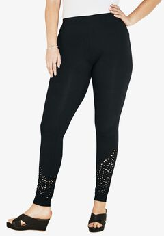 Laser Cut Legging,