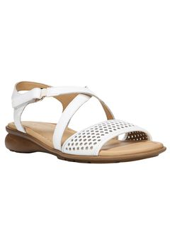 Juniper Sandals by Naturalizer®, WHITE LEATHER, hi-res