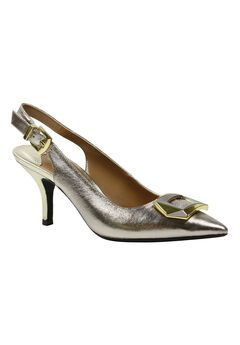 Lloret Pumps by J.Renee®, TAUPE GOLD, hi-res