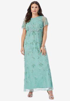 Glam Maxi Dress, DUSTY MINT