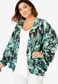 22562b3484 Plus Size Coats & Jackets for Women | Roaman's