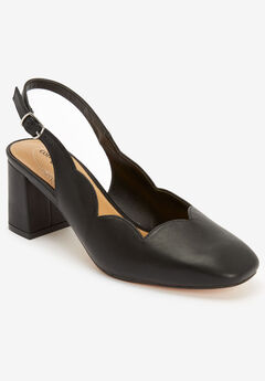 The Theresa Slingback by Comfortview®, BLACK