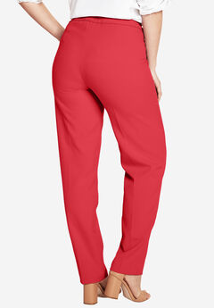 Bend Over® Pull-On Pant, CORAL RED, hi-res
