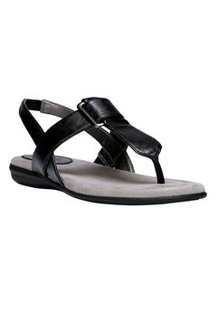 Brooke Sandals by LifeStride, BLACK, hi-res