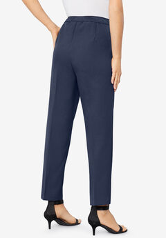 Ankle-Length Bend Over® Pant, NAVY