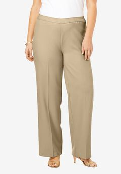 Wide-Leg Bend Over® Pant, SANDY BEIGE