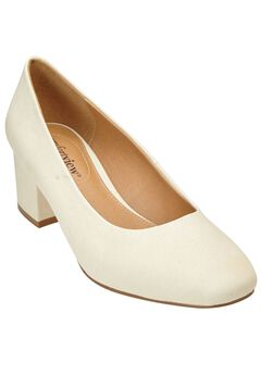 Diania Pumps by Comfortview®, OATMEAL, hi-res