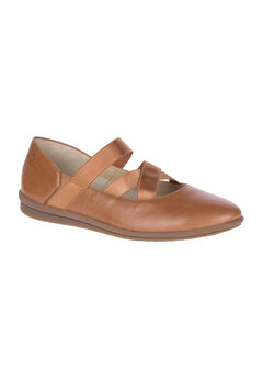Meree Madrine Flats by Hush Puppies®, TAN LEATHER, hi-res