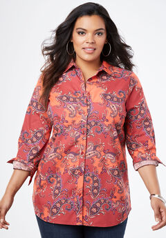 da551cd34bdccd Clearance Plus Size Tops, Sweaters & Cardigans | Roaman's