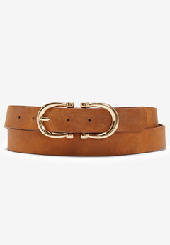 Faux Suede Belt,