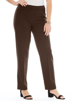 Bend Over® Pull-On Pant, CHOCOLATE, hi-res
