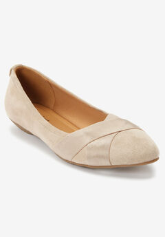 The Dona Flat by Comfortview®, OYSTER PEARL