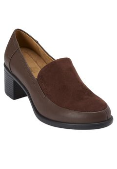 Gladys Slip-on by Comfortview, BROWN, hi-res