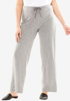 Lounge pants, MEDIUM HEATHER GREY, hi-res